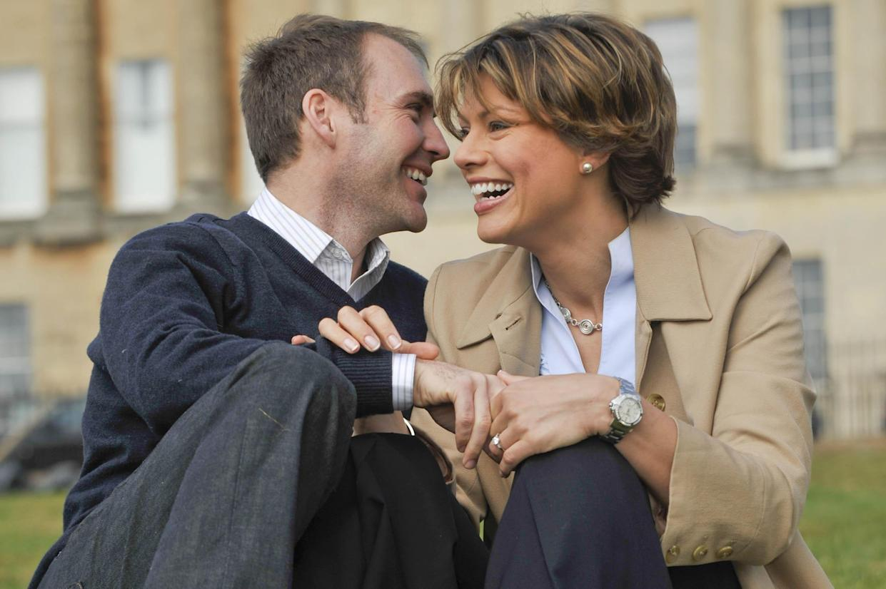 Kate Silverton said it took therapy to help her realise that husband Mike was the one for her