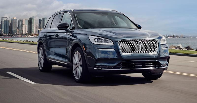 Lincoln reveals new Corsair SUV at New York auto show, targeting China and fast-growing utility vehicle market US