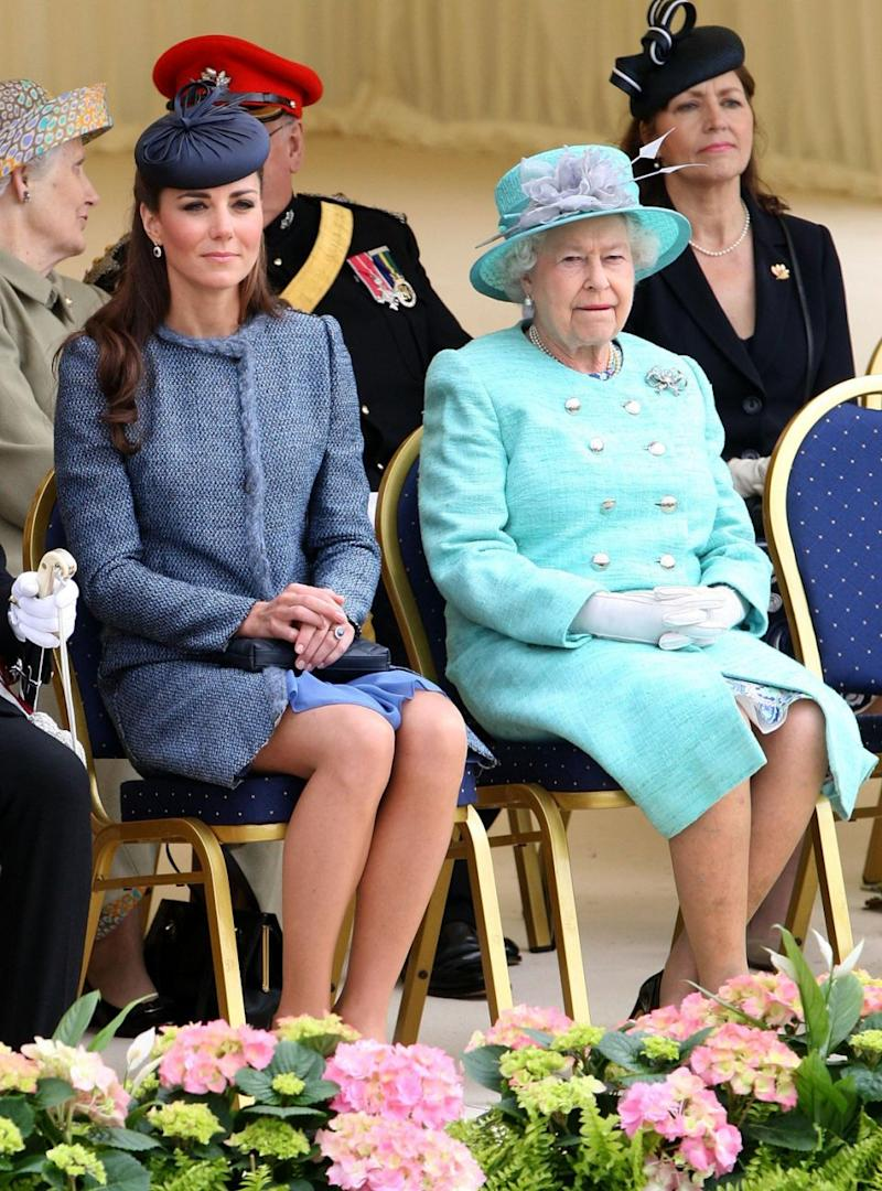 The Queen is reportedly 'livid' with Kate Middleton. Photo: Getty Images