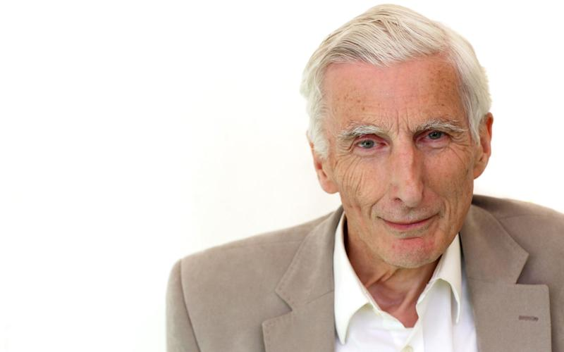 Lord Rees said 'within a few centuries machines will have taken over' - Clara Molden for The Telegraph
