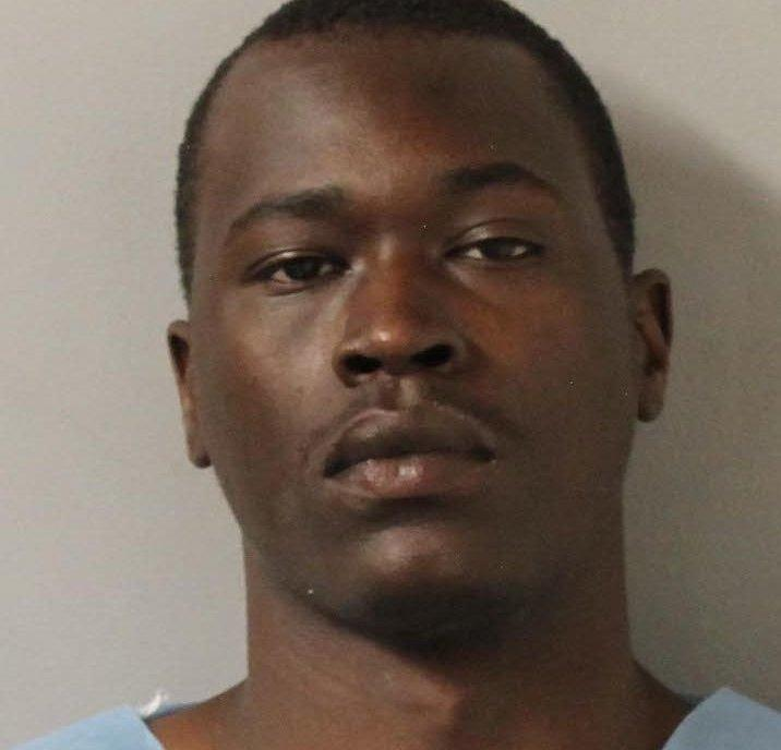 Emanuel Sampson, 25, has been charged with one count of murder in the Sunday morning attack.