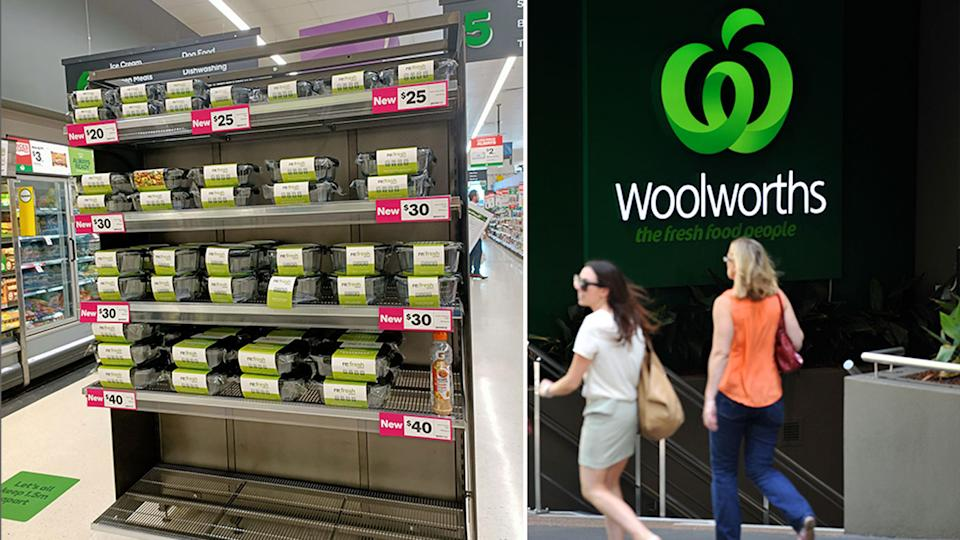 The glass containers Woolworths offered up as a promotion are now on sale, but if you have the points you can still redeem them. Source: Facebook/AAp