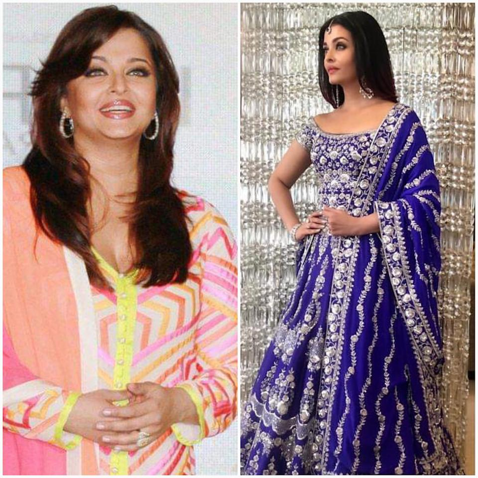 The former Miss World and one of the most successful actress of her time, Aishwarya Rai Bachchan had always been slim throughout her decades long career. Her body underwent a natural change that comes with pregnancy and child birth. We don't need to tell you that every body has its own anatomy and its reaction to the hormonal changes introduced by pregnancy would differ. The actress decided to allow her body the time it needed to lose the added weight comfortably and was faced with massive criticism and shameful trolling in media and social media. That was the time when hubby, Abhishek stood by her and gave the critics an earful when needed. Anyway, the mother of one is back in shape and looks as striking as ever.