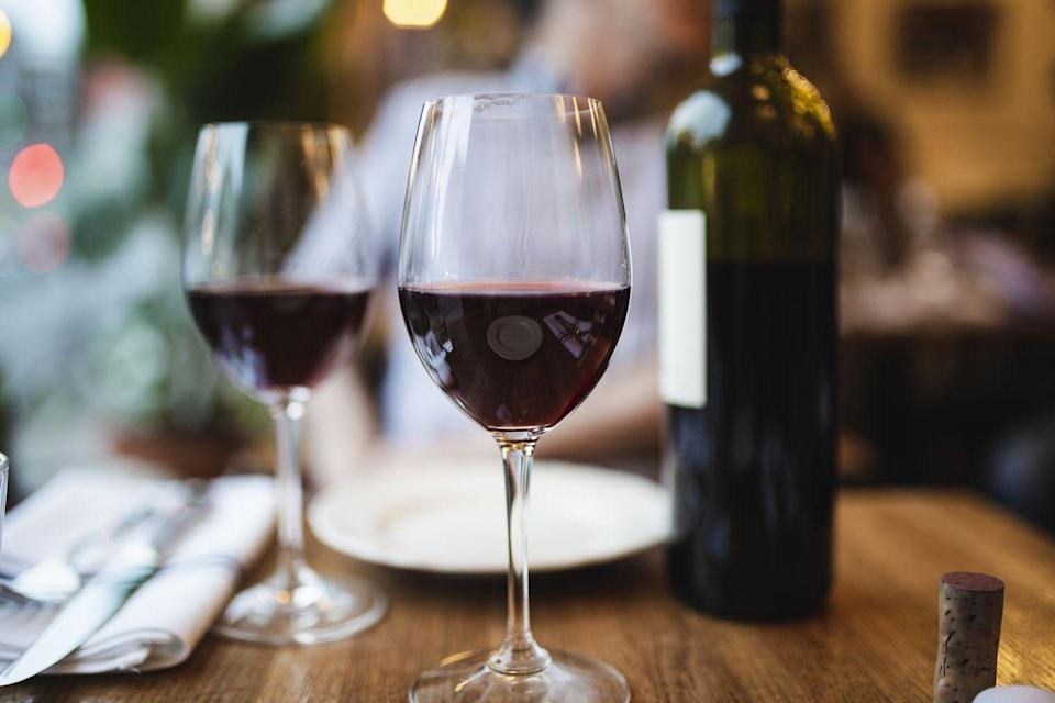 <p>A single glass of the red wine packs just 3.4 grams of carbs. With numbers like that, you might as well have two…</p>
