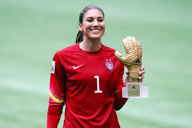 Hope Solo was a major difference between the 2015 USWNT and the 2019 edition. (Getty Images)