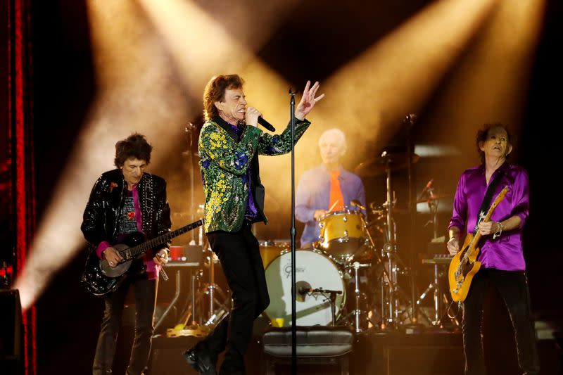 Rolling Stones jam with Jimmy Page in lost track from 'hallowed era'