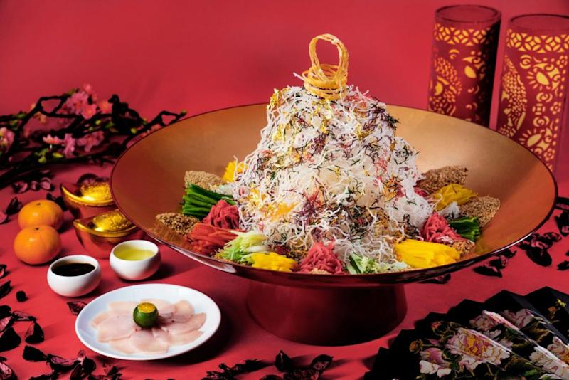 Kaleidoscope of Prosperity yu sheng from Yan.