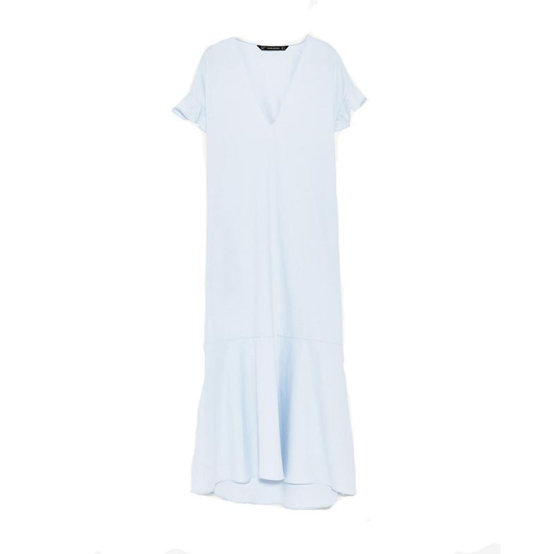 """<p><a href=""""https://www.zara.com/us/en/sale/woman/dresses/view-all/midi-dress-with-layered-skirt-c732061p4083047.html"""" rel=""""nofollow noopener"""" target=""""_blank"""" data-ylk=""""slk:Midi Dress With Layered Skirt,"""" class=""""link rapid-noclick-resp"""">Midi Dress With Layered Skirt,</a> <span><span>$50</span> $30</span></p> <p> <strong>Related Articles</strong> <ul> <li><a href=""""http://thezoereport.com/fashion/style-tips/box-of-style-ways-to-wear-cape-trend/?utm_source=yahoo&utm_medium=syndication"""" rel=""""nofollow noopener"""" target=""""_blank"""" data-ylk=""""slk:The Key Styling Piece Your Wardrobe Needs"""" class=""""link rapid-noclick-resp"""">The Key Styling Piece Your Wardrobe Needs</a></li><li><a href=""""http://thezoereport.com/entertainment/celebrities/meghan-markle-meet-the-markles-reality-show/?utm_source=yahoo&utm_medium=syndication"""" rel=""""nofollow noopener"""" target=""""_blank"""" data-ylk=""""slk:Meghan Markle Is About To Be The Subject Of A New Reality TV Show"""" class=""""link rapid-noclick-resp"""">Meghan Markle Is About To Be The Subject Of A New Reality TV Show</a></li><li><a href=""""http://thezoereport.com/living/wellness/chocolate-avocado-pudding-recipe-bon-appetit/?utm_source=yahoo&utm_medium=syndication"""" rel=""""nofollow noopener"""" target=""""_blank"""" data-ylk=""""slk:If You Love Avocados And Chocolate, You Need To Try This Easy Recipe"""" class=""""link rapid-noclick-resp"""">If You Love Avocados And Chocolate, You Need To Try This Easy Recipe</a></li> </ul> </p>"""