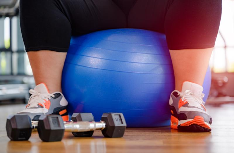 Bristol university is banning sports and fitness instructors from using certain phrases it has deemed fatphobic. (Image posed by model, Getty Images)