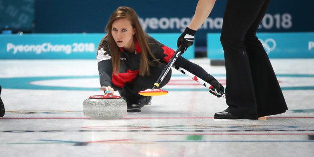 Canada's Rachel Homan won't be playing for a medal at PyeongChang.