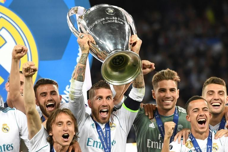 Legendary defender Sergio Ramos won four Champions League titles with Real Madrid, including a historic three-in-a-row from 2016-18