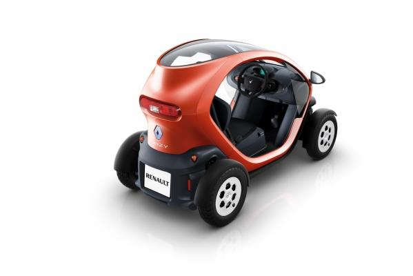 Displayed at the 2010 Delhi Auto Expo, the Renault Twizy is due to go on sale at the end of 2011 in Europe.