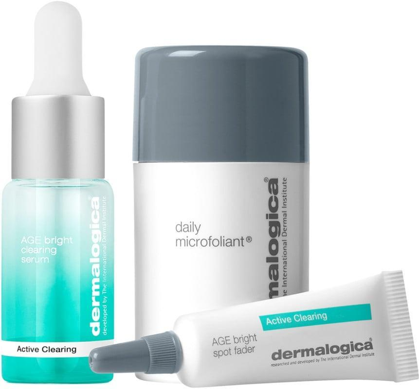 <p>This <span>Dermalogica Active Clearing Kit</span> ($45) is a great option for those with acne-prone skin.</p>