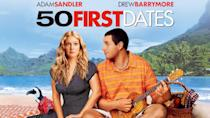 """<p>Drew Barrymore and Adam Sandler star in this goofy romantic comedy about a woman who loses her memory at the end of every day and a man who tries to woo her anyway. </p><p><a class=""""link rapid-noclick-resp"""" href=""""https://www.netflix.com/watch/60033311?trackId=254986071&tctx=5%2C2%2C72120aa6-5553-4e6a-a0e4-39fd32bf4793-13315773%2Ca8ed29ec-b206-4148-ba3b-7cbf385ff09e_12148811X28X3052090X1607718788637%2Ca8ed29ec-b206-4148-ba3b-7cbf385ff09e_ROOT%2C"""" rel=""""nofollow noopener"""" target=""""_blank"""" data-ylk=""""slk:STREAM NOW"""">STREAM NOW</a></p>"""