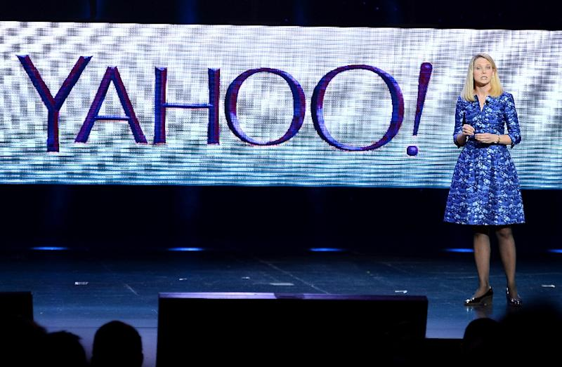 Marissa Mayer, seen in 2014, became Yahoo chief in 2012