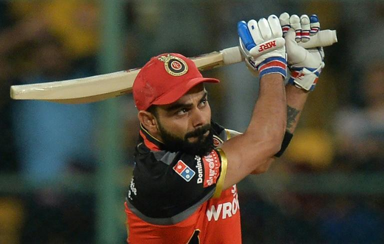 Stepping down: Virat Kohli will give up the T20 captaincy of the India team atfer the tournament (AFP/Manjunath KIRAN)