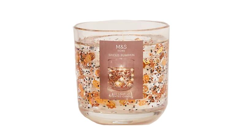 20 Hour Spiced Pumpkin Scented Light Up Candle