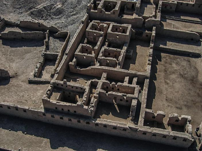 An Inca city on the Peruvian coast, <strong>Tambo Colorado</strong> was damaged by an earthquake in 2007 and is also threatened by weather and tourism.