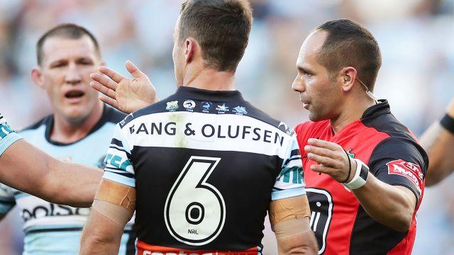 Maloney was sin-binned in controversial fashion. Image: Getty