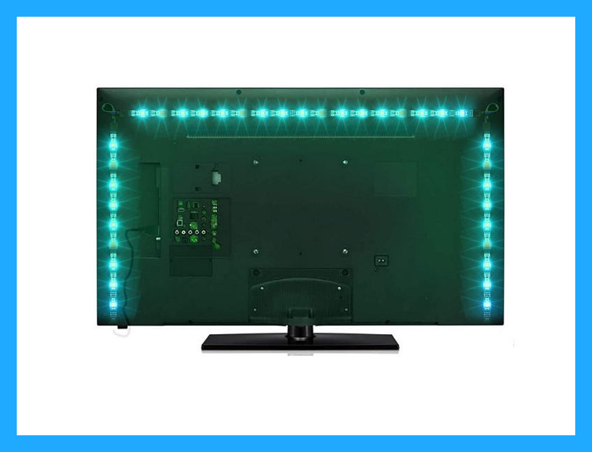 Save $5 on this Sunnest TV Backlight Light Kit for Prime members only. (Photo: Amazon)