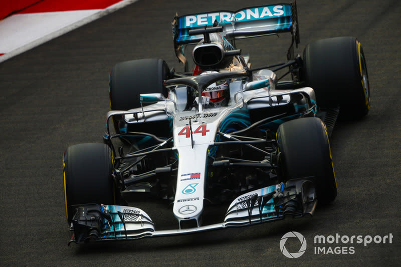 """Mercedes W09 EQ Power+ (2018)<span class=""""copyright"""">Andrew Hone / Motorsport Images</span>"""