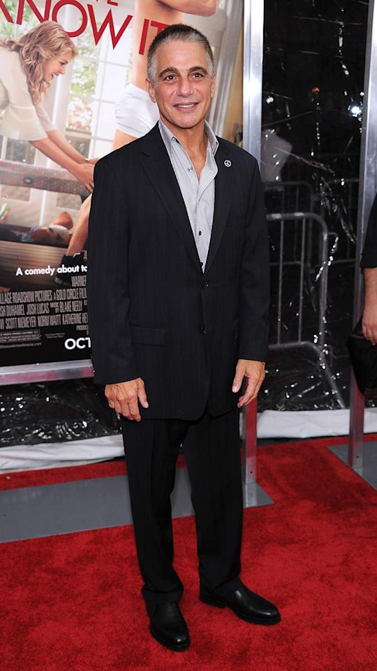 "<a href=""http://movies.yahoo.com/movie/contributor/1800071277"">Tony Danza</a> at the New York City premiere of <a href=""http://movies.yahoo.com/movie/1810126237/info"">Life as We Know It</a> on September 30, 2010."