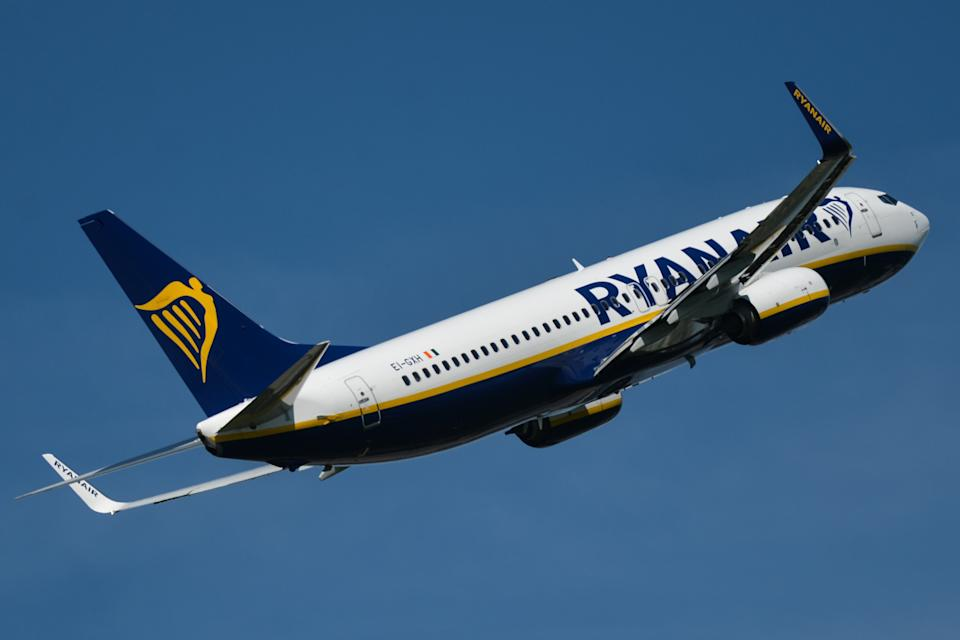 Ryanair said it operated over 12,000 flights in May. Photo: Getty Images