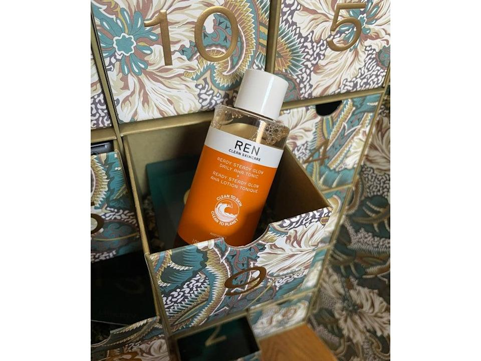 A full-size bottle of Ren Clean Skincare's AHA tonic was a real highlight (Lucy Partington)