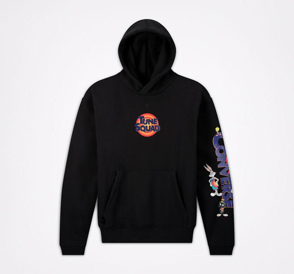 Converse x Space Jam: A New Legacy Court Ready Pullover Hoodie. Image via Converse.com