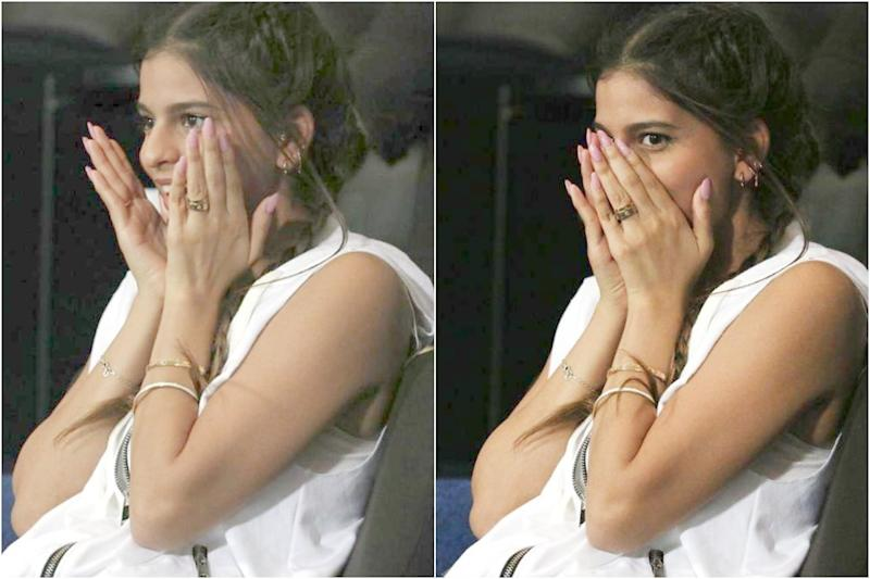 In Pics: Netizens Can't Get Over Many Moods of Suhana Khan at MI vs KKR IPL Match