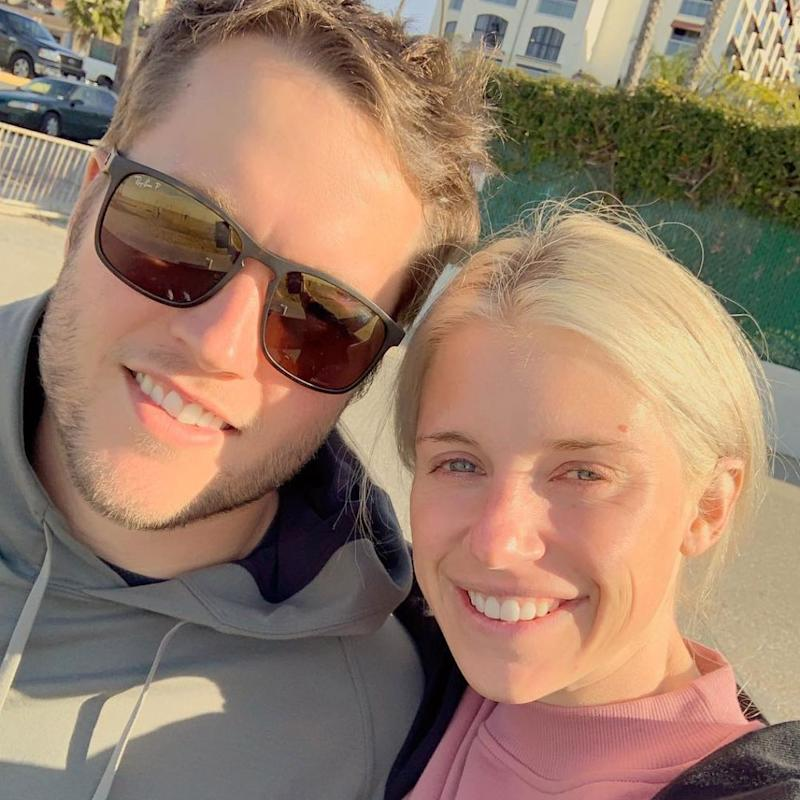 Matthew and Kelly Stafford | Kelly Stafford/Instagram