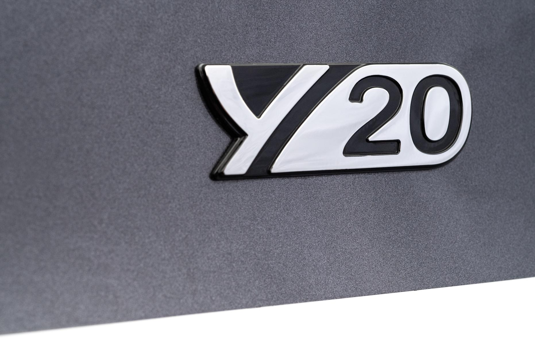The Y20 is available with two engine choices