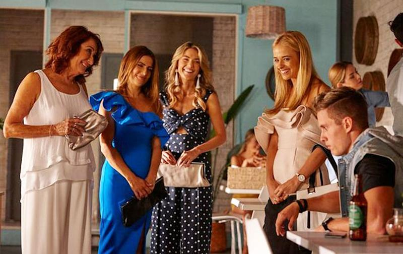 Home and Away has continued filming amid the coronavirus outbreak. (Photo: Channel Seven )