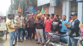 Move aside Kanhaiya Kumar: Now BJP workers in Bengal are raising Azaadi slogans