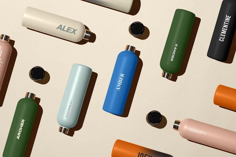 This New Customizable Stainless Steel Water Bottle Keeps Drinks Cold For 24 Hours And Hot For 12