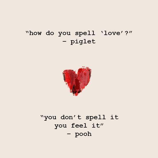 <p>Who knew Pooh was such a romantic? </p>