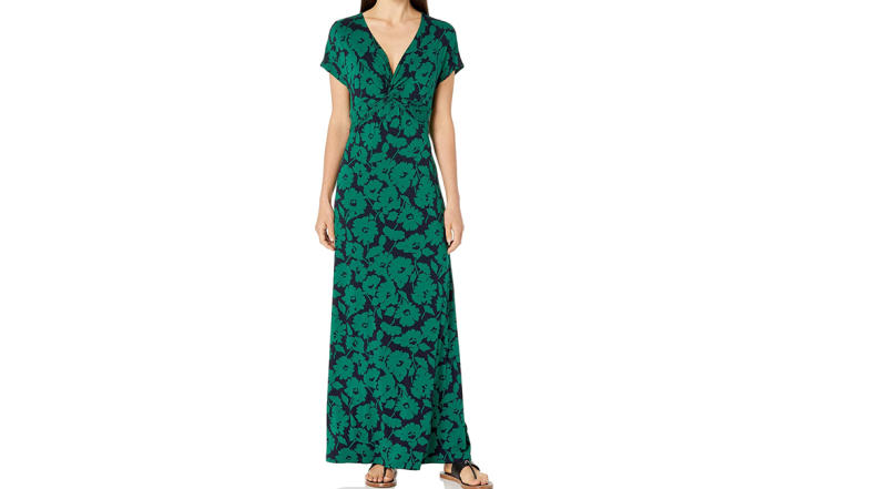 Amazon Essentials Women's Twist Front Maxi Dress (Photo: Amazon)