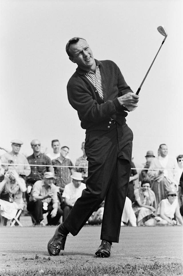<p>Professional golfer Arnold Palmer. (Photo by: NBC/NBCU Photo Bank via Getty Images) </p>