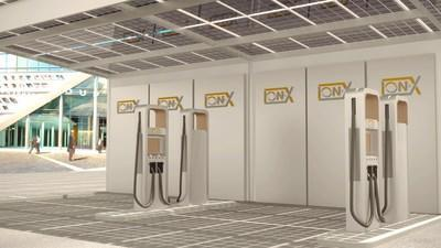 Rendering of the Proposed Smart Charger Courtesy of the Company (CNW Group/EV Battery Tech)