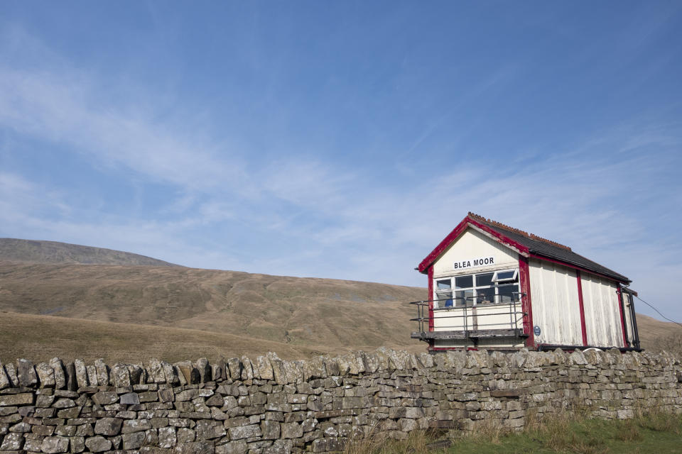 Blea Moor signal box on the Settle to Carlisle line (Getty Images)