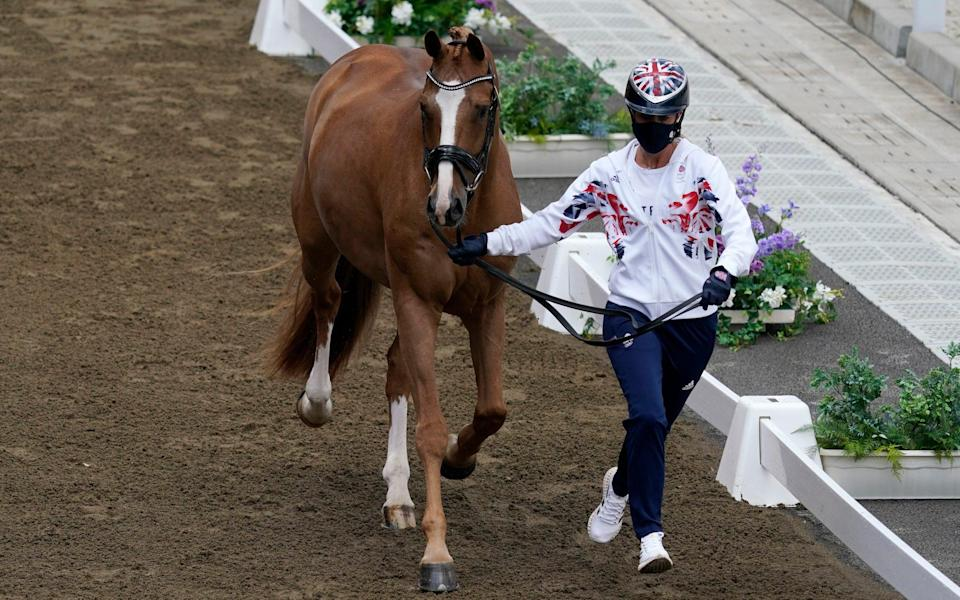 History beckons for 'artist' Charlotte Dujardin as she aims for third straight Olympic gold - Carolyn Kaster /AP