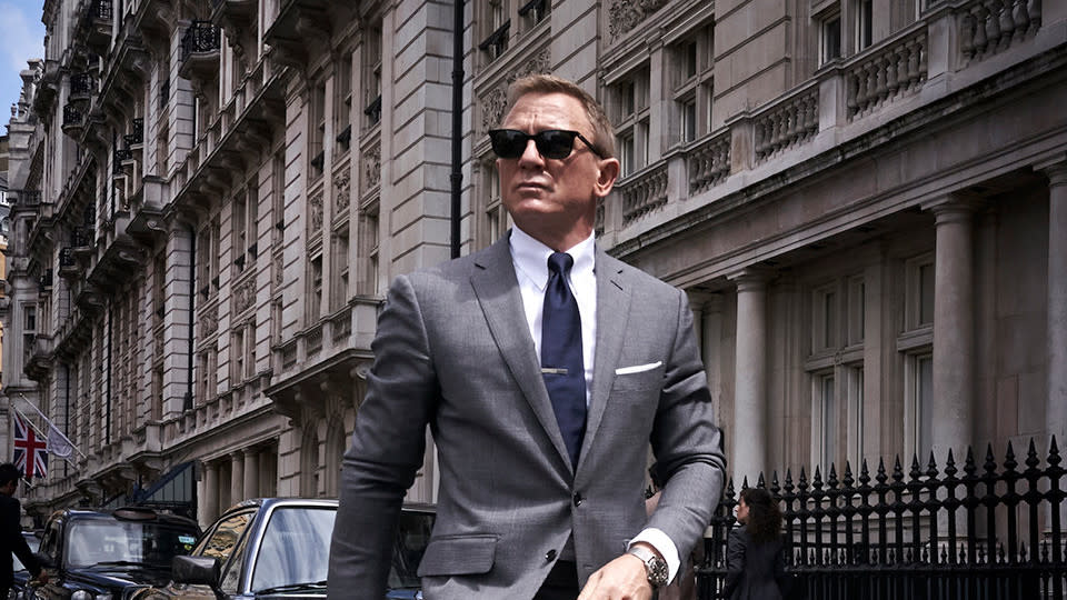 Daniel Craig in a promotional still for 'No Time to Die'. (Credit: MGM/Eon/Universal)
