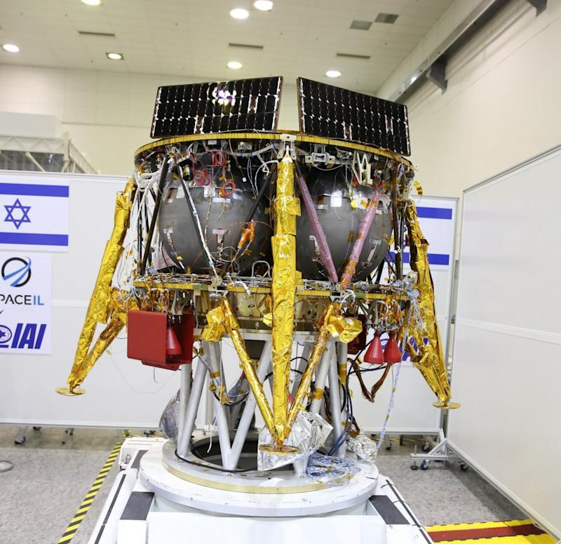 To the moon? Israel's SpaceIL says SpaceX will launch team's lunar lander this year