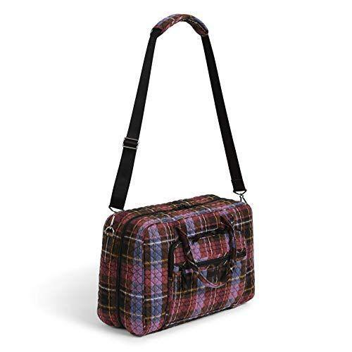 """<p><strong>Vera Bradley</strong></p><p>amazon.com</p><p><strong>$100.62</strong></p><p><a href=""""https://www.amazon.com/dp/B0883CBBFS?tag=syn-yahoo-20&ascsubtag=%5Bartid%7C2164.g.32388887%5Bsrc%7Cyahoo-us"""" rel=""""nofollow noopener"""" target=""""_blank"""" data-ylk=""""slk:Shop Now"""" class=""""link rapid-noclick-resp"""">Shop Now</a></p><p>This weekender will stand the test of time thanks to its lightweight exterior and it's timeless plaid pattern (for more plaid, <a href=""""https://www.thepioneerwoman.com/fashion-style/g34150540/best-flannel-shirts-women/"""" rel=""""nofollow noopener"""" target=""""_blank"""" data-ylk=""""slk:look here"""" class=""""link rapid-noclick-resp"""">look here</a>). It's made of soft cotton and folds flat for easy packing and unpacking. </p>"""