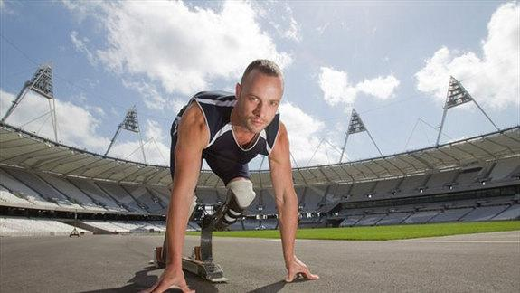 Oscar Pistorius, a runner with two artificial legs below the knees, won the right to compete in the London 2012 Olympic Games.