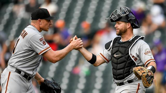 An 11-8 win over the Colorado Rockies saw the San Francisco Giants complete a sweep.