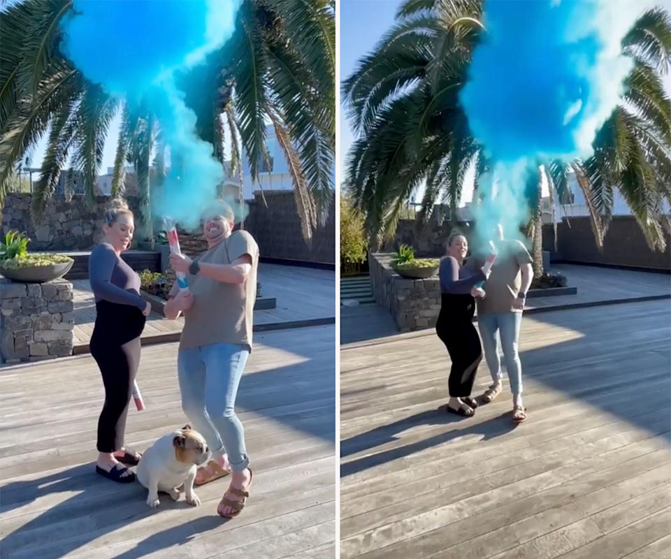 Bryce and Melissa's twins' gender reveal