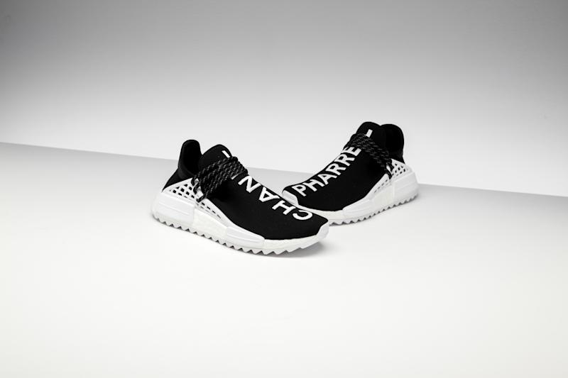 Chanel x Pharrell x Adidas NMD Hu sneakers — STADIUM GOODS