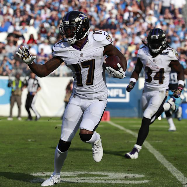 Wide receiver Mike Wallace is set to score a nice bonus thanks to one of the stranger weight clauses we've seen. (AP)