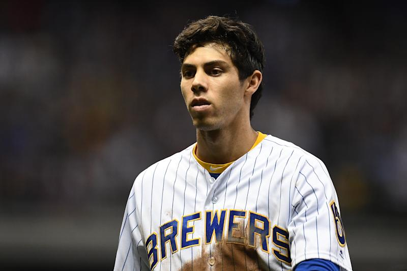 Former NL MVP Christian Yelich says there might be too many challenges for MLB to play in 2020. (Photo by Stacy Revere/Getty Images)